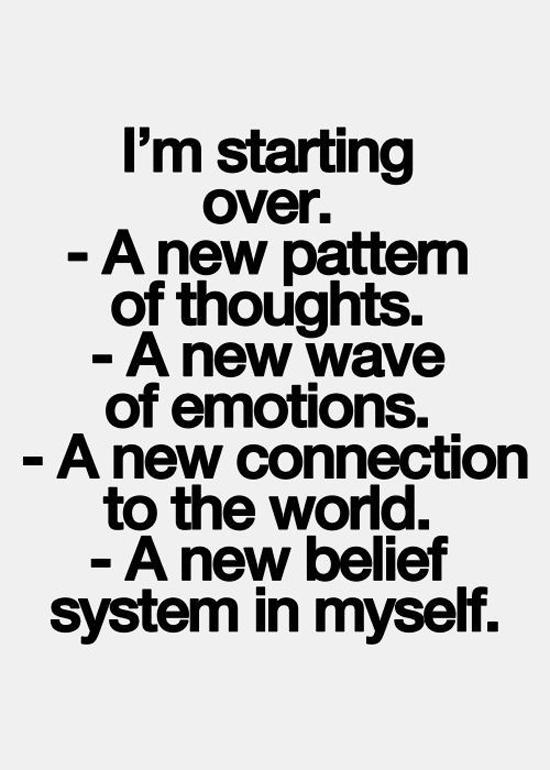 Im Starting Over