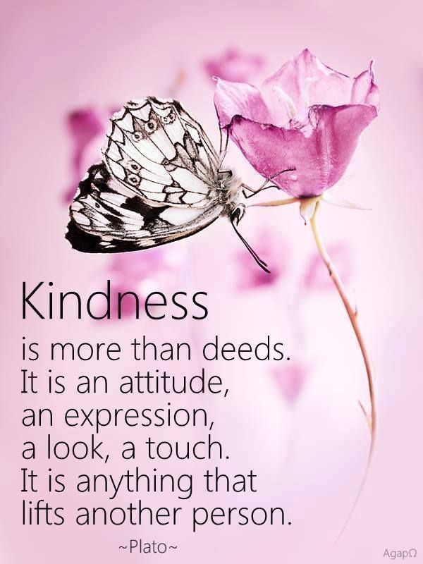 Kindness Is More Than Deeds