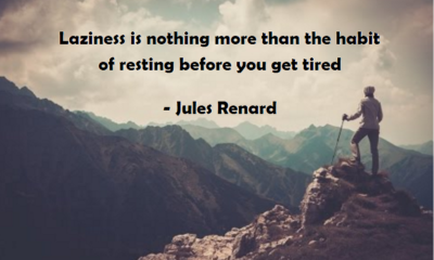 Laziness Jules Renard Daily Quotes Sayings Pictures