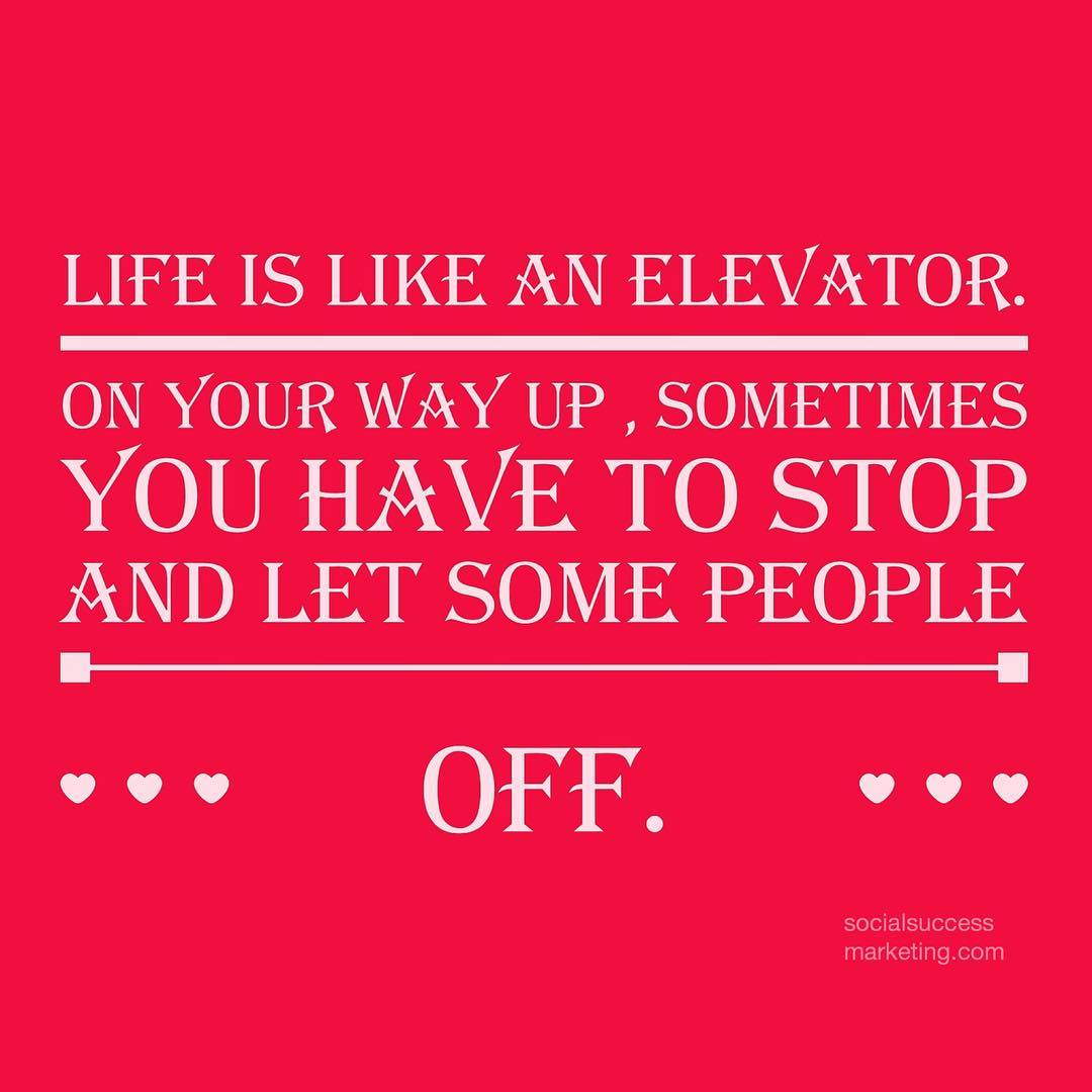 Life Is Like An Elevator Daily Quotes Sayings Pictures