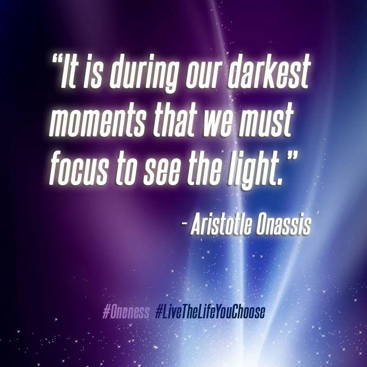 Our Darkest Moments