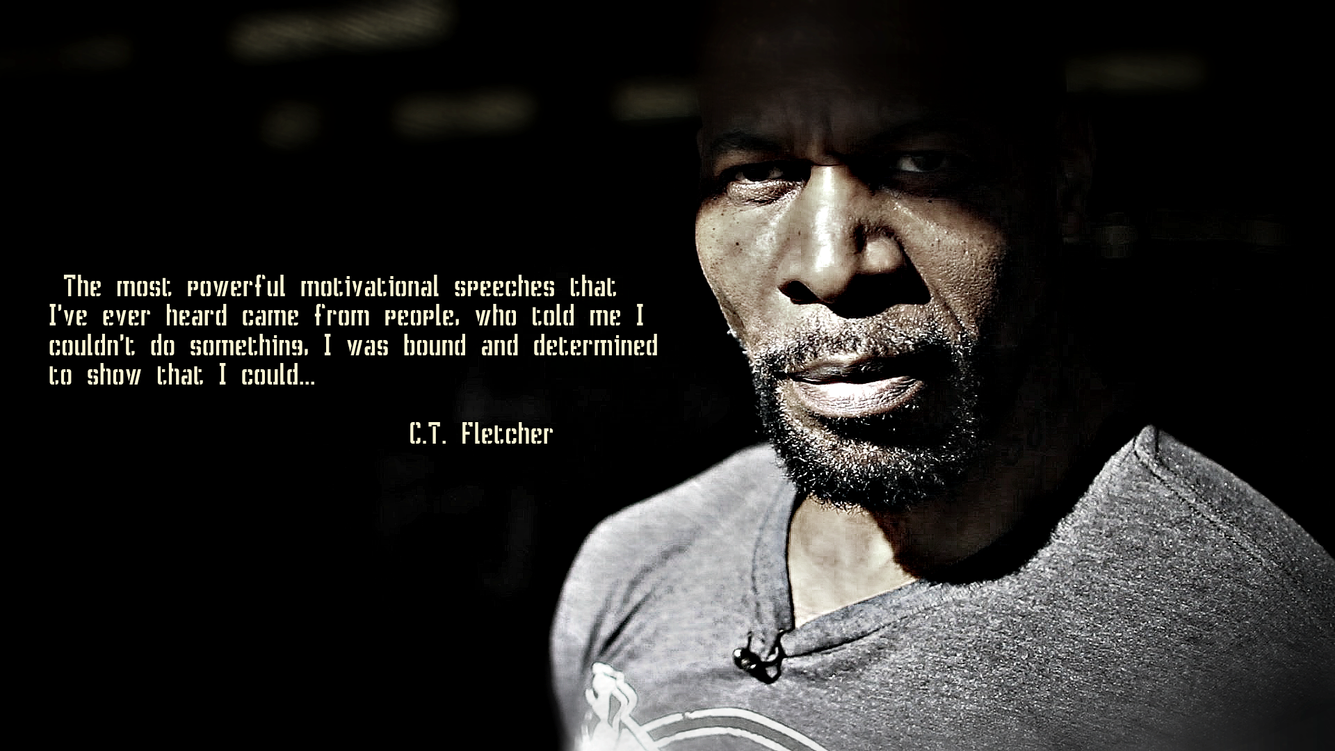 Powerful Motivational Speeches C T Fletcher Daily Quotes Sayings Pictures