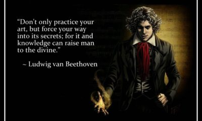 Practice Your Art Ludwig Van Beethoven Daily Quotes Sayings Pictures
