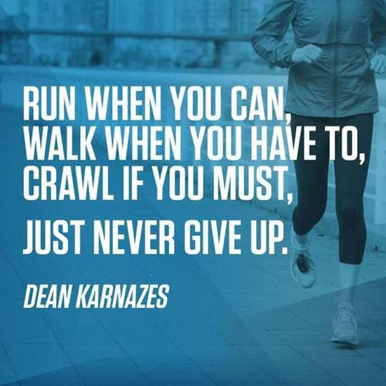 Run When You Can