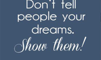Show Them Your Dreams