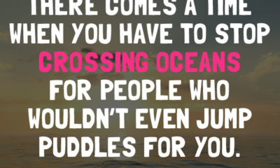 Stop Crossing Oceans