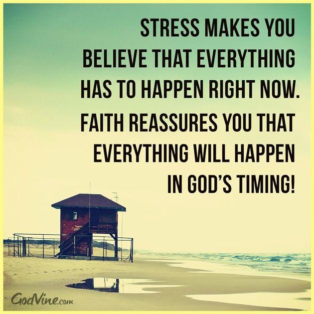 Stress Faith