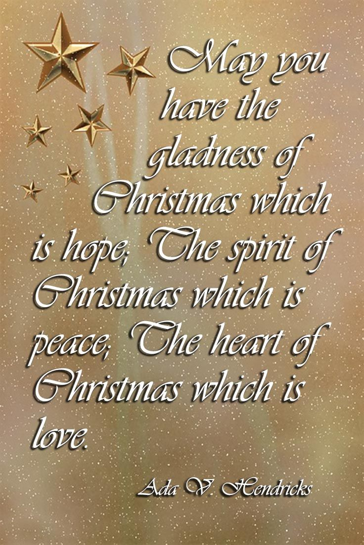 The Gladness Of Christmas