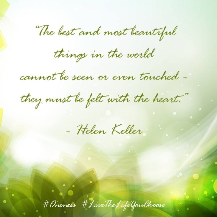 The Most Beautiful Things