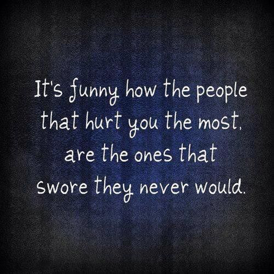The People That Hurt You
