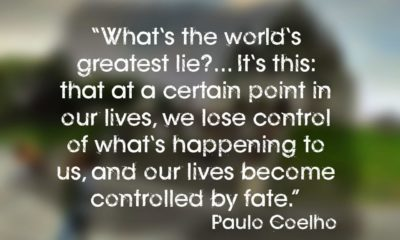 The Worlds Greatest Lie Paulo Coelho Daily Quotes Sayings Pictures