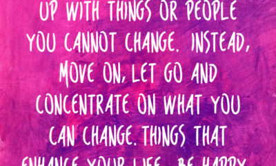 Things You Cannot Change