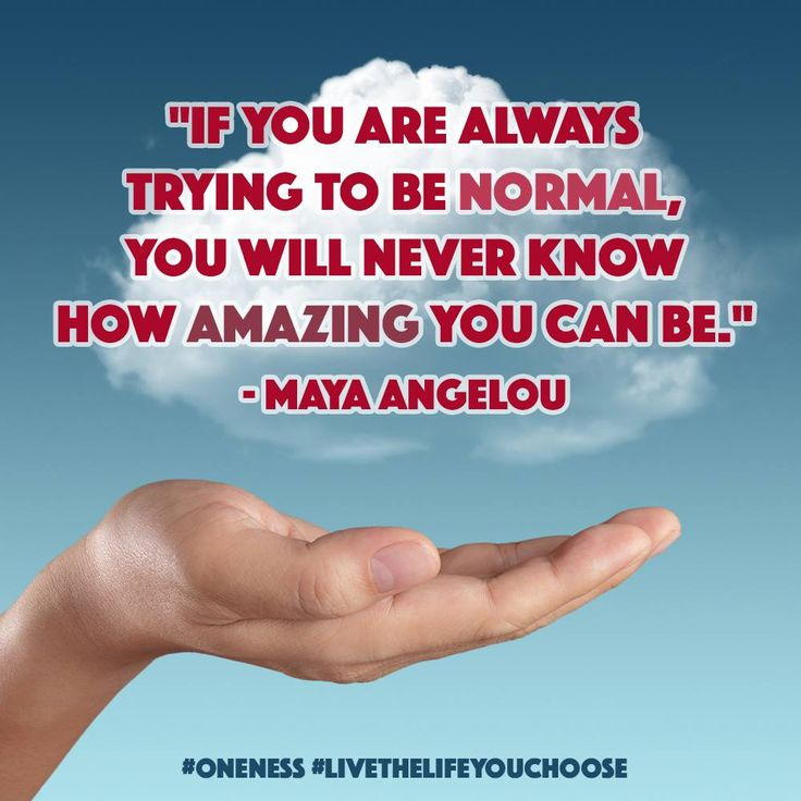 Trying To Be Normal