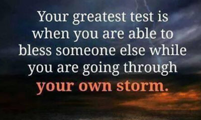 Your Greatest Test