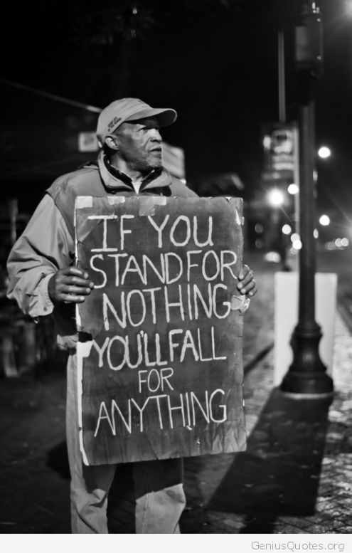 Stand For Something Real