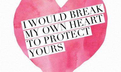 Break My Own Heart
