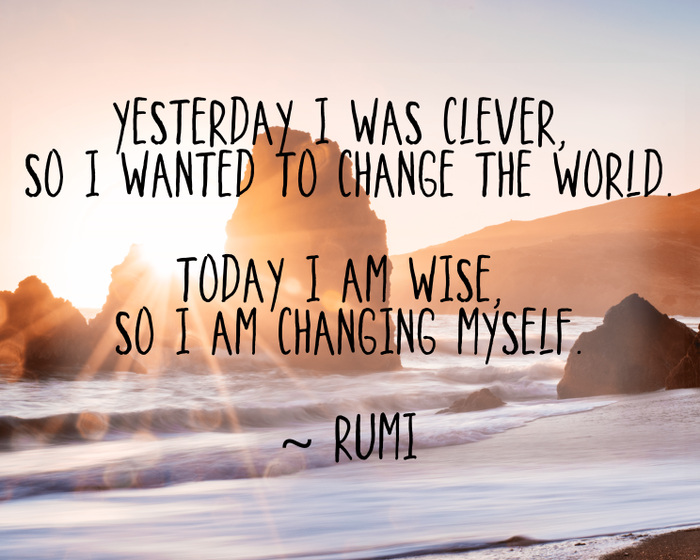 Changing Myself