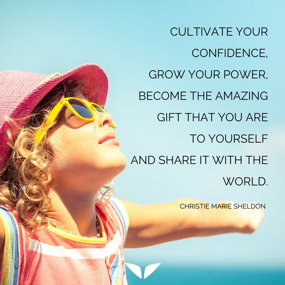 Cultivate Your Confidence