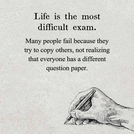 Difficult Exam