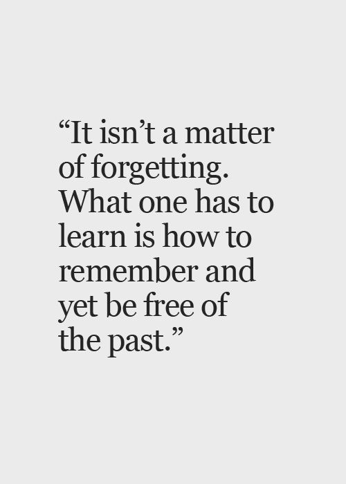 Free Of Your Past