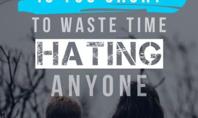 Hating Anyone