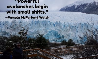 Powerful Avalanches Pamela Mcfarland Walsh Daily Quotes Sayings Pictures