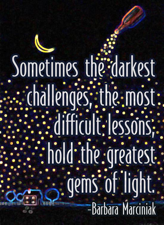The Darkest Challenges