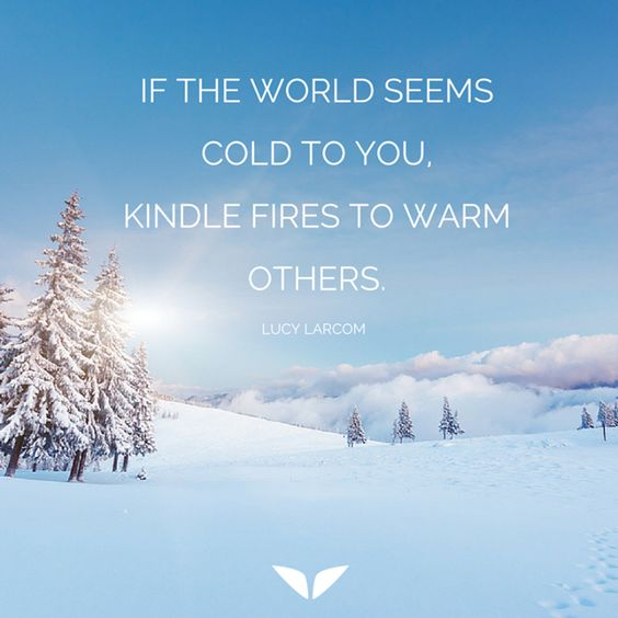 The World Seems Cold