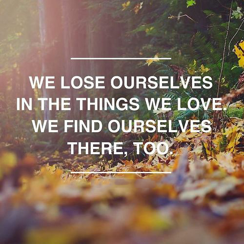 We Lose Ourselves