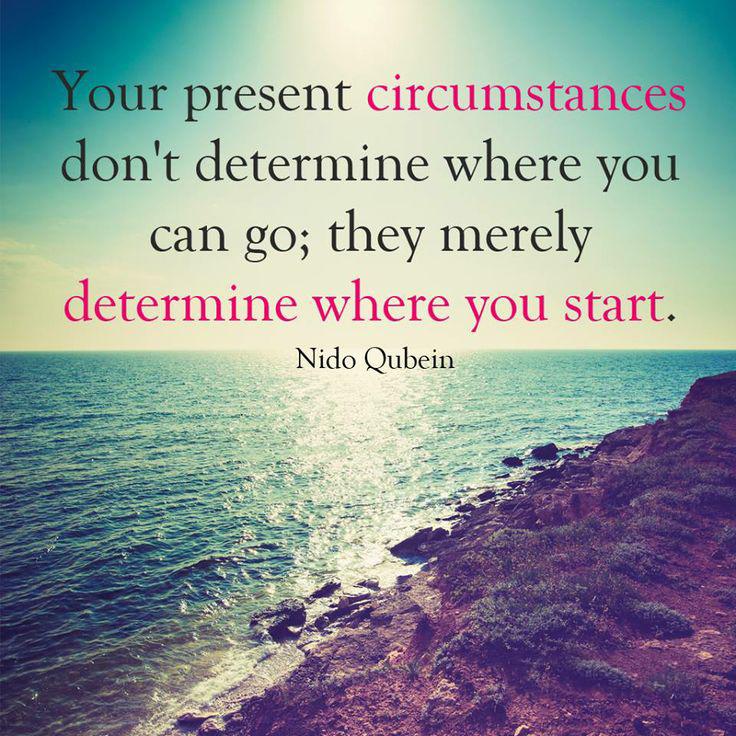 Your Present Circumstances