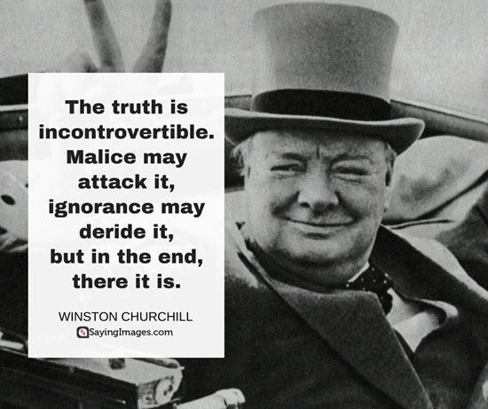 winston churchill history quote