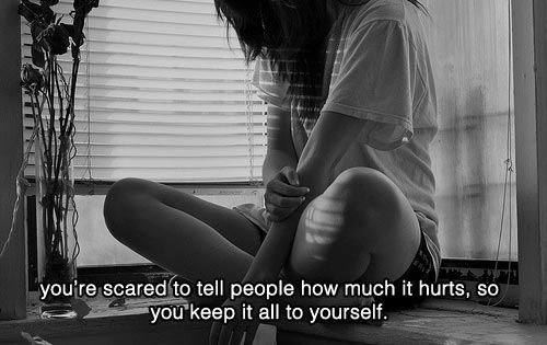 Sad-Hearbreak-Depressing-Quotes-youre-scared-to-tell-people-how-much-it-hurts