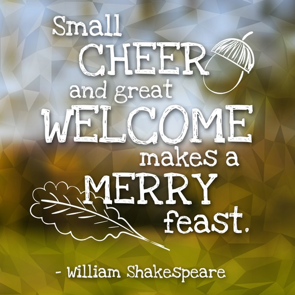 Shakespeare Feast Quotes