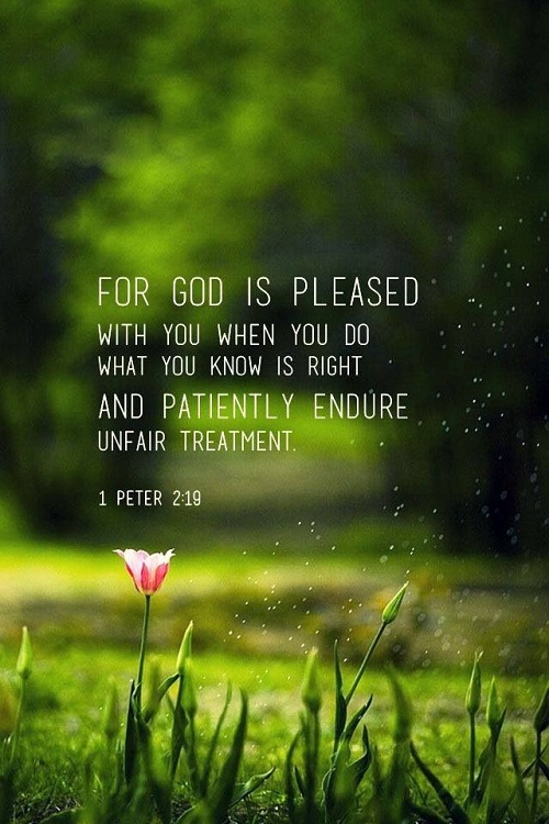 For God is Pleased Bible Quotes