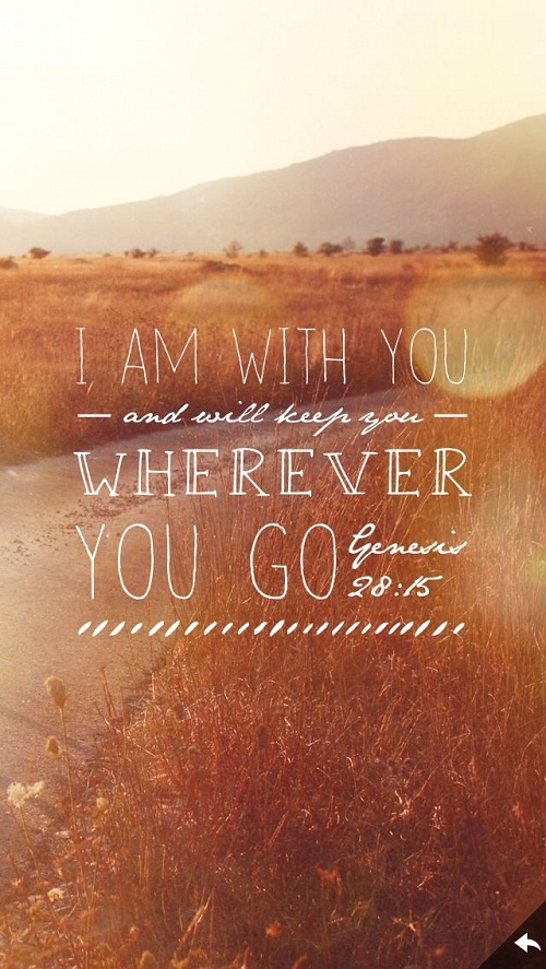 I am with You Bible Quotes