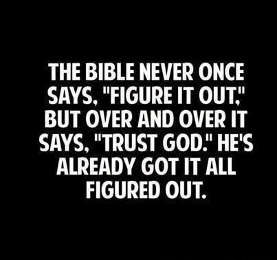 Trust God Bible Quotes