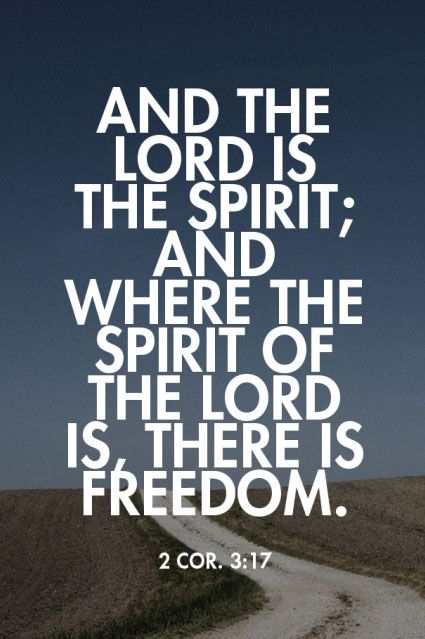 There is Freedom Bible Quotes