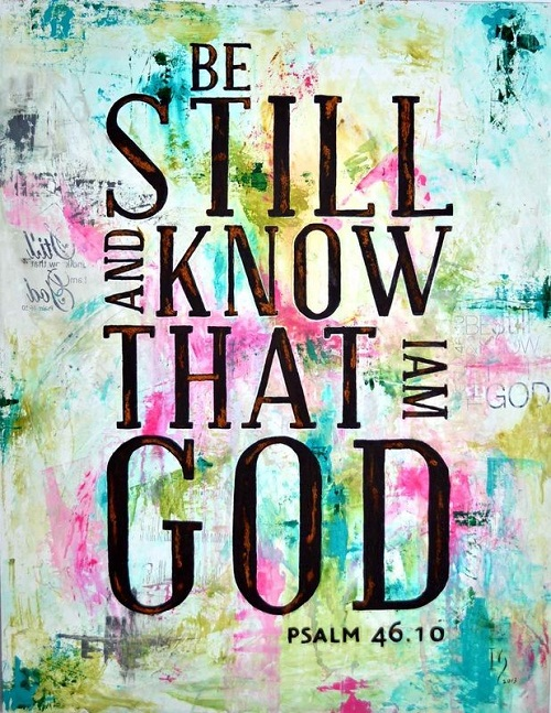 I am with God Bible Quotes