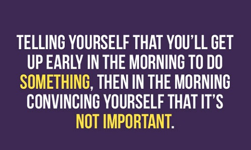 Not Important Funny Good Morning Quotes