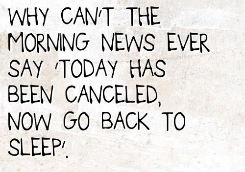 News Funny Good Morning Quotes