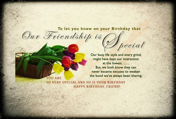 Birthday Short Wishes For Friend