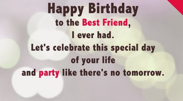 Birthday Wishes Sms For Friend