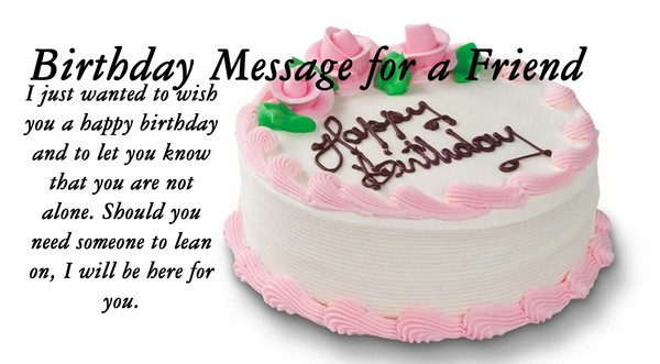 Cute Birthday Wishes For Friend