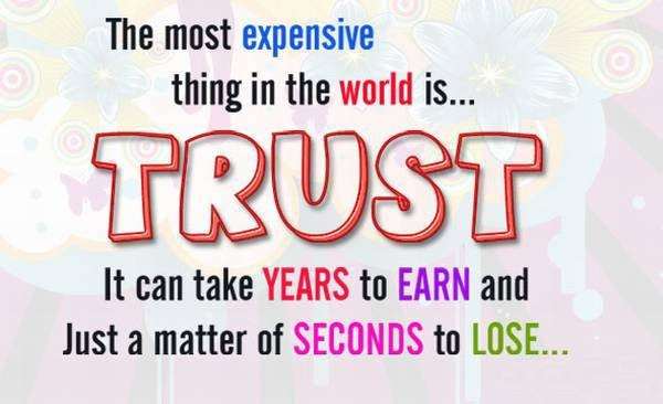 quotes about broken trust
