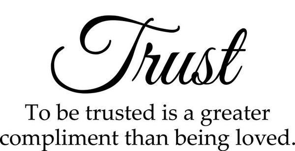 Quotes About Trust And Love
