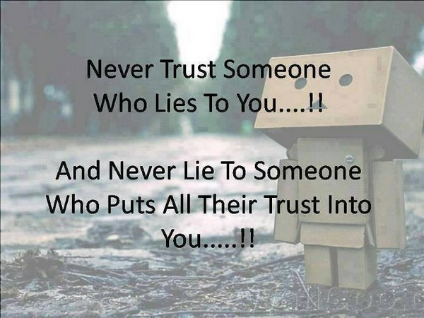 Quotes About Trust Life