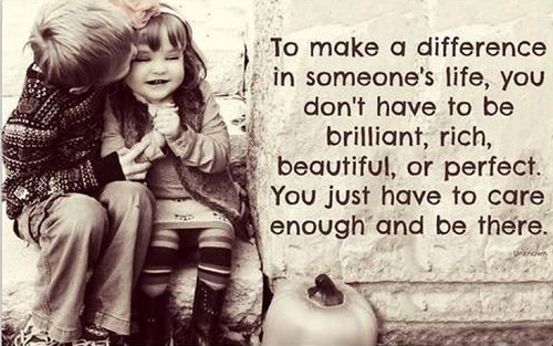 Make a Difference Lovely Quotes