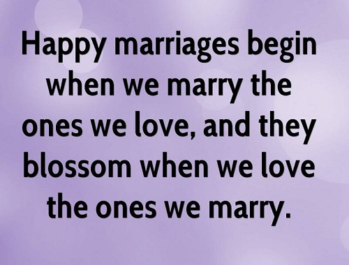 Short Motivational Marriage Quotes