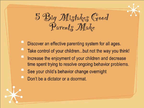 Quotes about family on parenting mistakes.