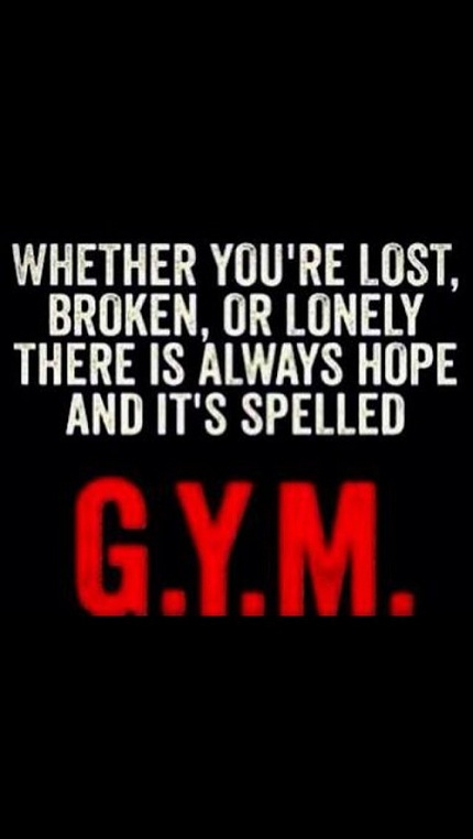 Whether You're Lost Broken Gym Quotes
